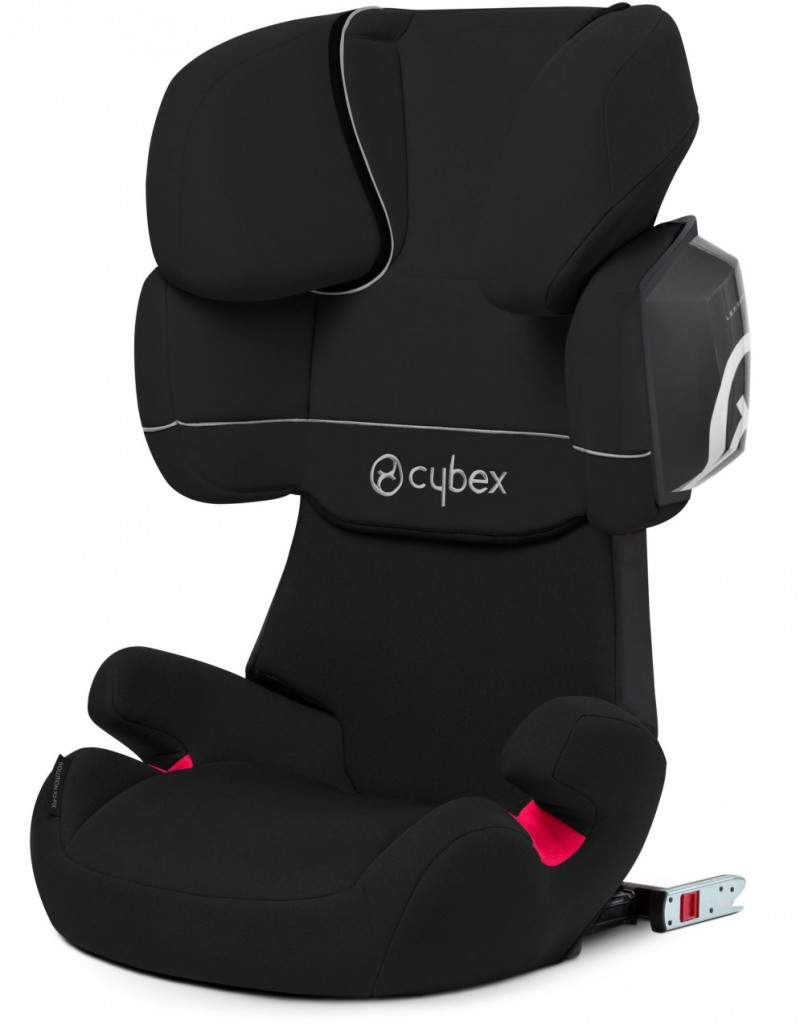 cybex solution x2 fix pure black. Black Bedroom Furniture Sets. Home Design Ideas