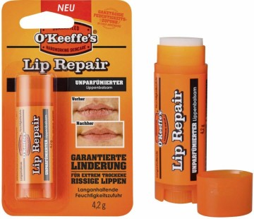 O´Keeffe´s Lip Repair Unscented Leppepomade