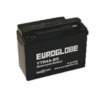 BATTERI 12 volt AGM, YTR4A-BS