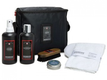 Swissvax Leather Care Kit Forte - Skinnpleiesett