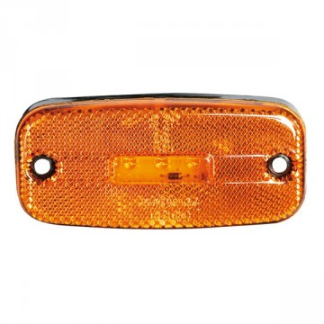 Led sidemarkeringslampe Orange