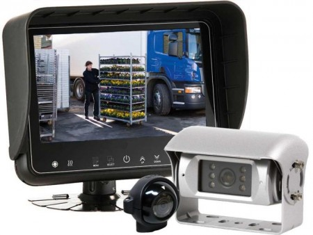 Ryggekamera/monitorer